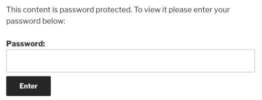 default-password-protected-form
