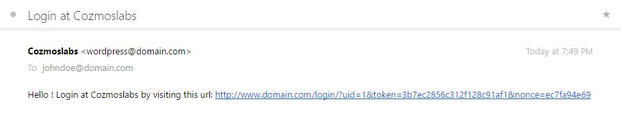 Passwordless-Login-Email-Notification