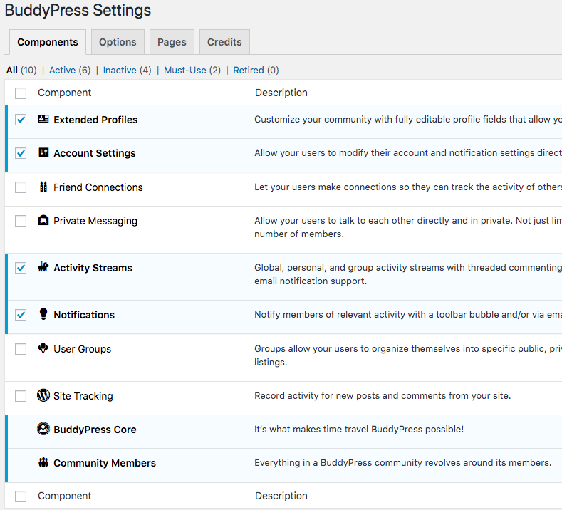 ppwp-buddypress-settings-wordpress-intranet