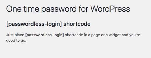 ppwp-passwordless-shortcode
