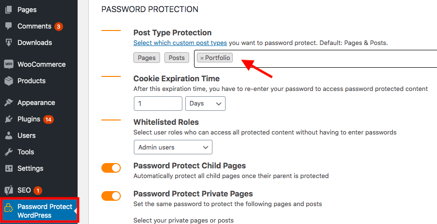 ppwp-password-protect-portfolios-settings