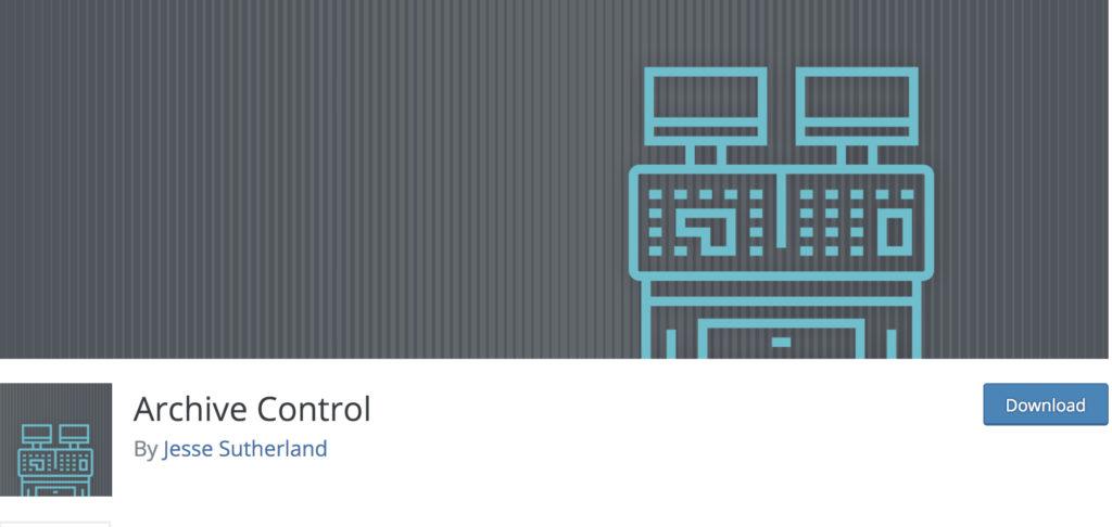 archive control