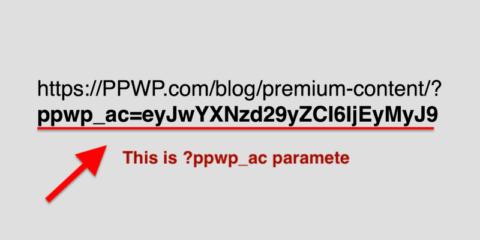 quick access link paramete