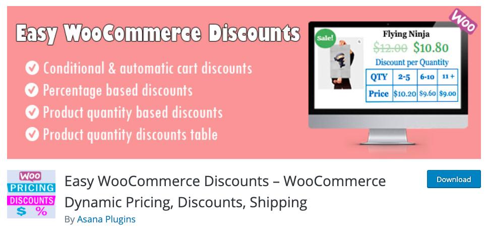WooCommerce BOGO Easy Discounts