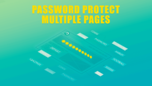 PPWP Pro Tutorial Videos: Password Protect Multiple Pages