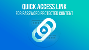 PPWP Pro Tutorial Videos: Password Quick Access Links