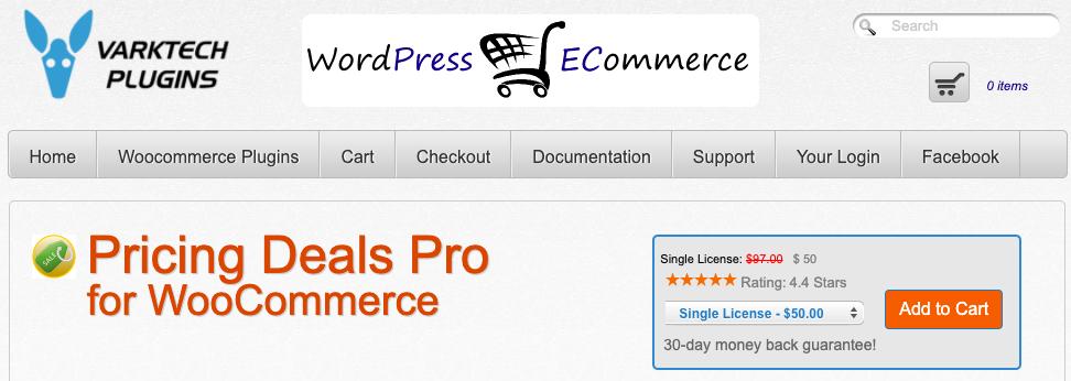 WooCommerce BOGO Pricing Deals