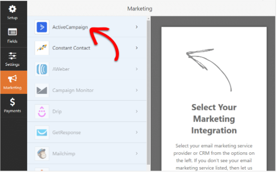 Integrate High-Converting ActiveCampaign Forms with WordPress connect form