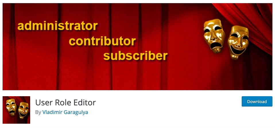 WordPress Multisite User Role Editor