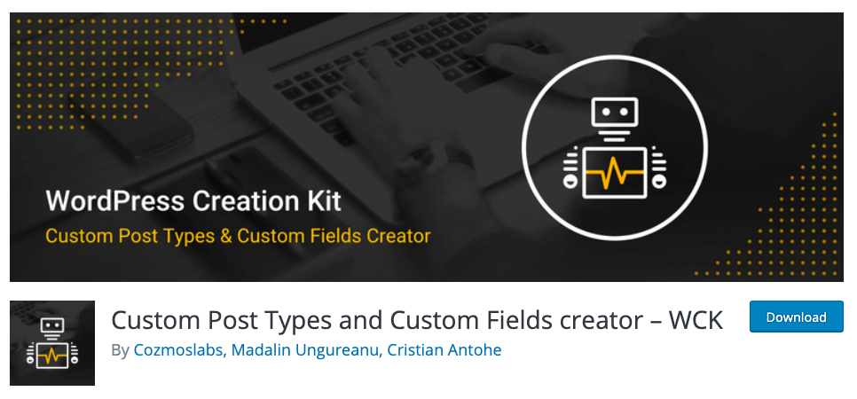 custom fields and custom post types