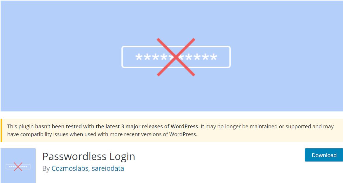 passwordless login