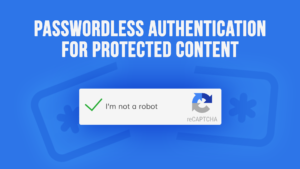 PPWP Pro Tutorial Videos: Passwordless Authentication for Protected Content