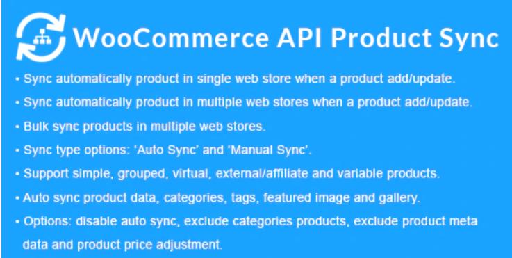WooCommerce API Product Sync