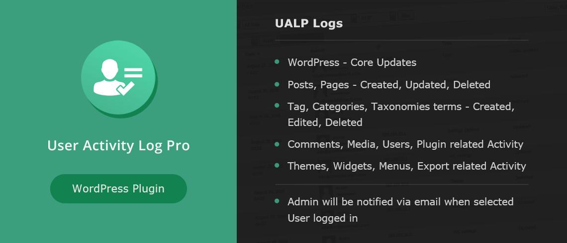 User Activity Log Pro