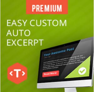 Easy Custom Auto Excerpt