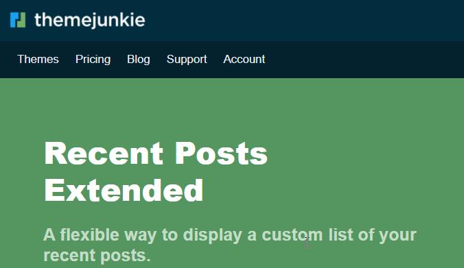 Theme Junkie WordPress Excerpt Plugin