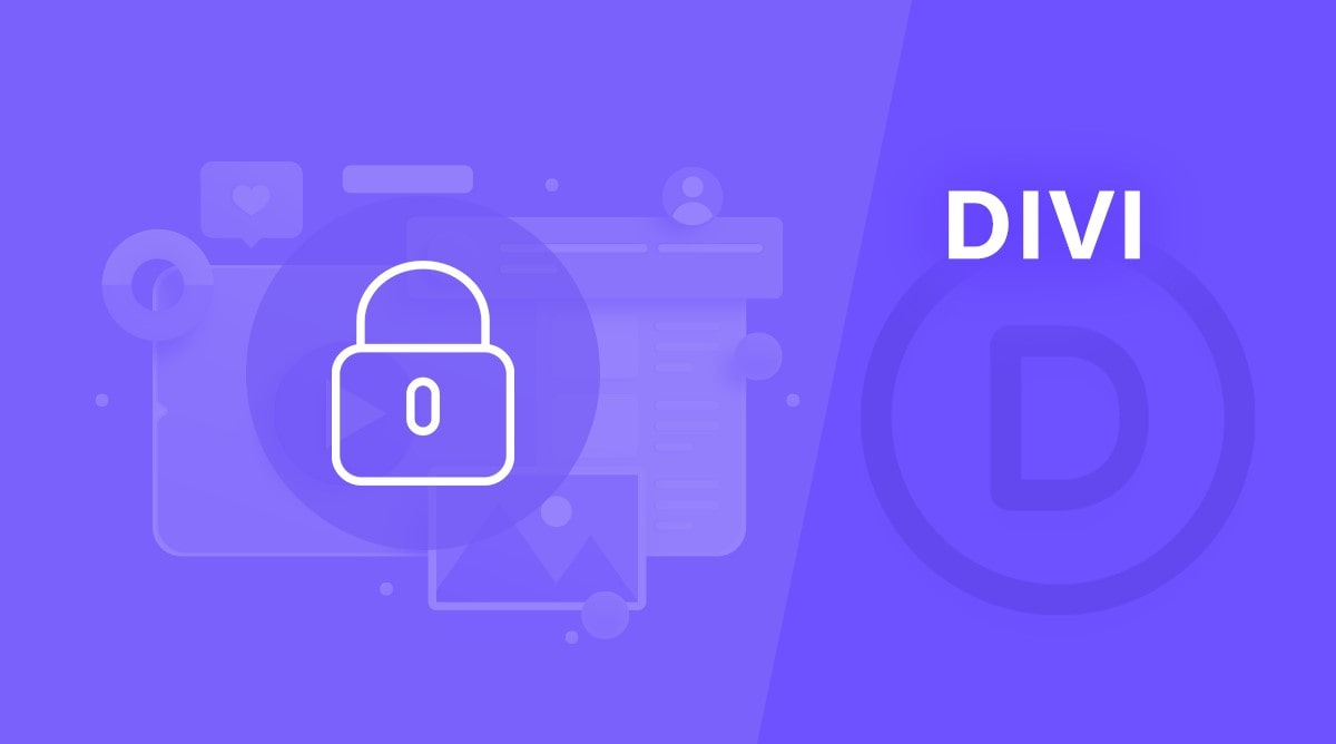 customize password protected pages in Divi