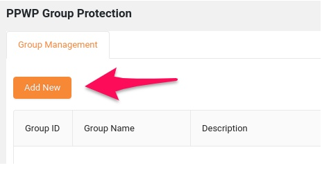 PPWP group protection