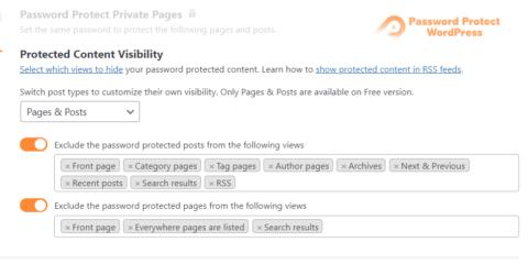 Password Protect WordPress Lite: Hide Password Protected Content