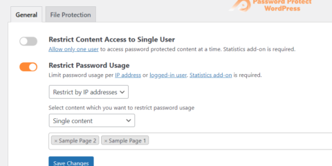 Smart Restriction: Limit Password Usage Based on IP Addresses