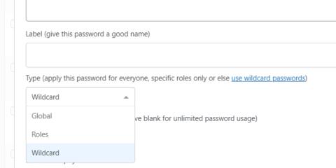 Password Protect WordPress Pro: Wildcard Passwords