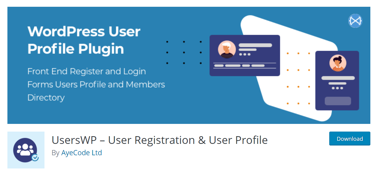 UsersWP - User Registration and User Profile