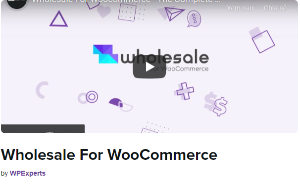 Wholesale for WooCommerce