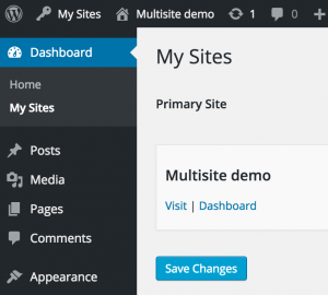 PPWP Pro: New My Sites section