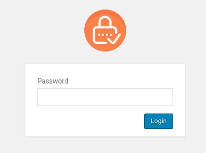 PPWP Pro: Sitewide password form