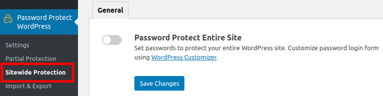 PPWP Pro: Sitewide Protection