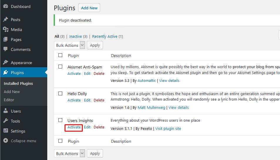 PPWP Pro: Users Insights plugin
