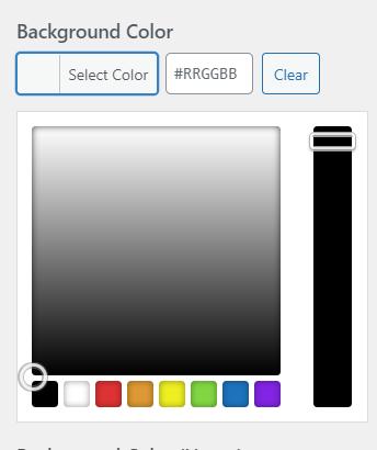 PPWP Pro: Choose button color