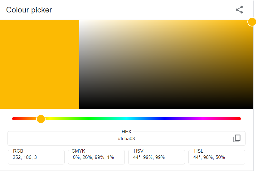 PPWP Pro: Choose color code
