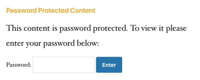 PPWP Pro: Default password forms